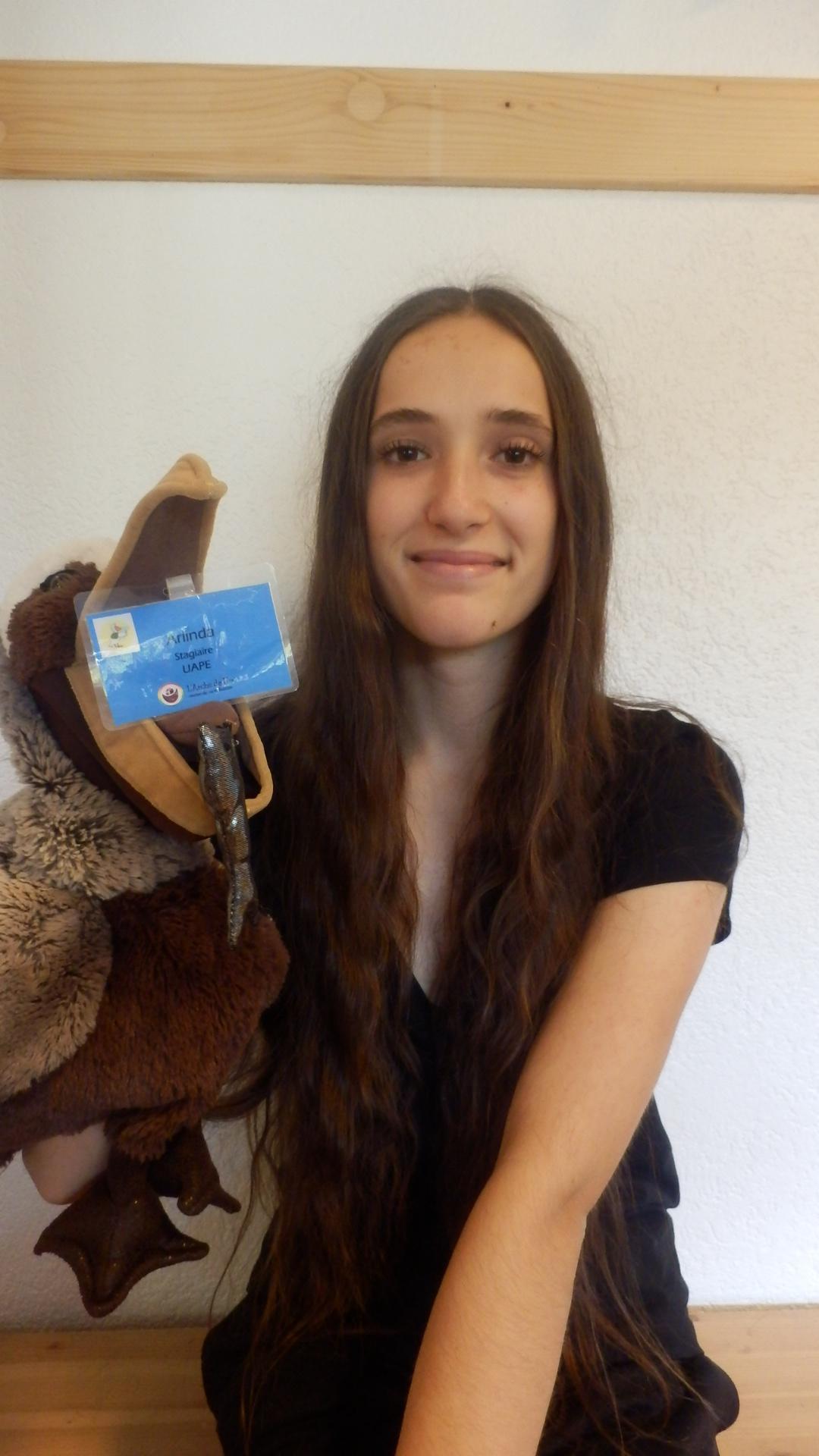 Arlinda, Stagiaire ASE (Assistante Socio-Éducative)