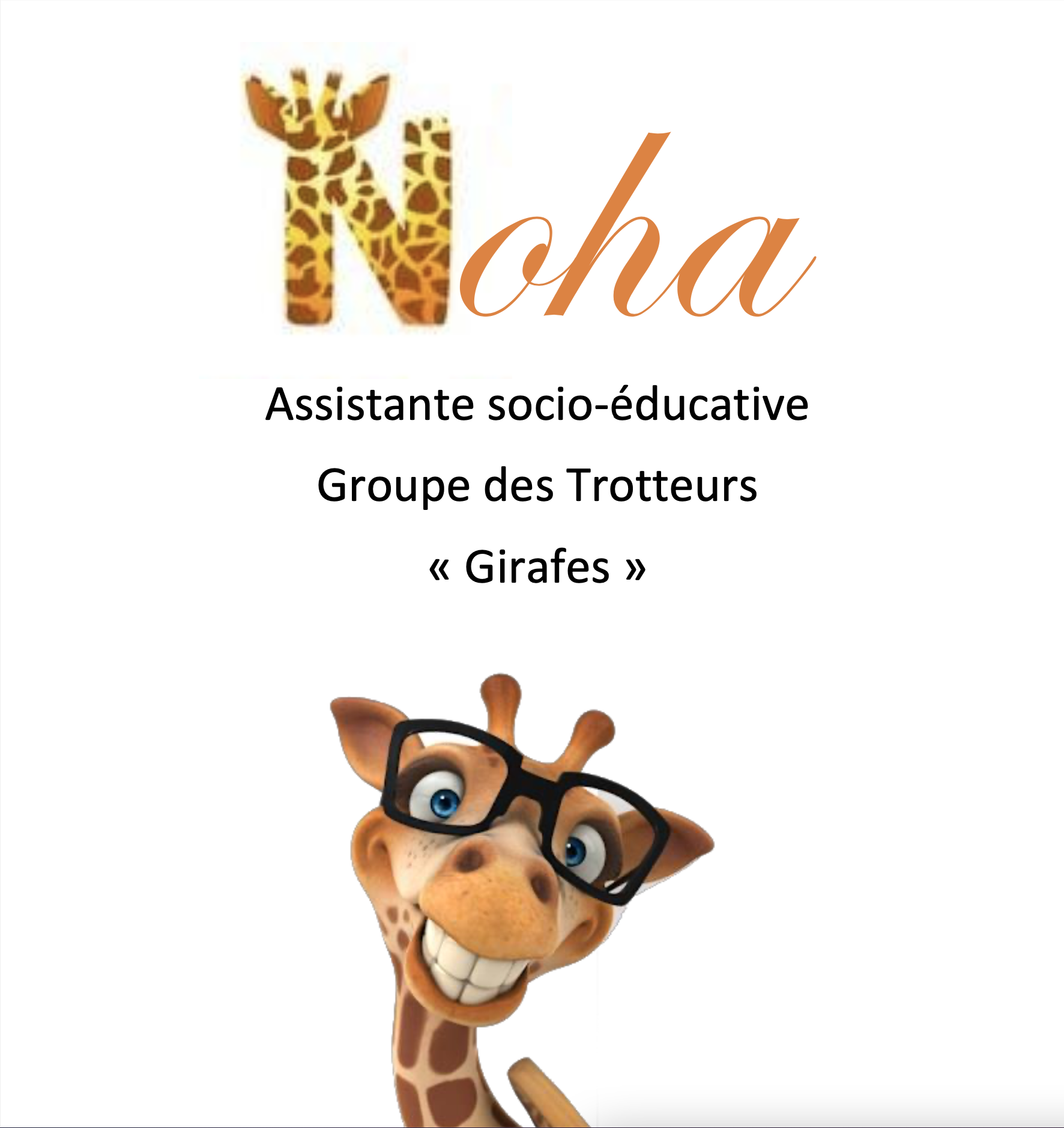 Noah, ASE (Assistante Socio-Éducative)