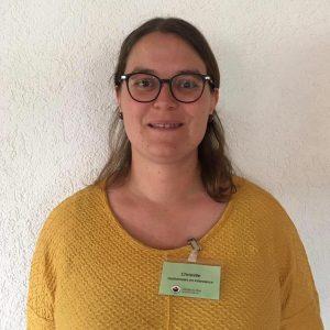 Christelle, GEI (gestionnaire en intendance)