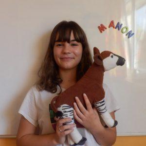 Manon, Pré-Apprentissage ASE (Assistante Socio-Éducative)