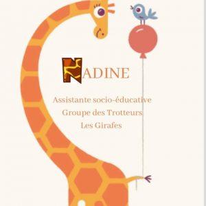 Nadine, ASE (Assistante Socio-Éducative)