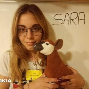 Sara, Apprentie ASE 1ère année (Assistante Socio-Éducative)