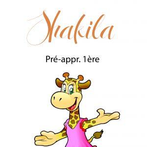 Shakila, Pré-appr. 1ère