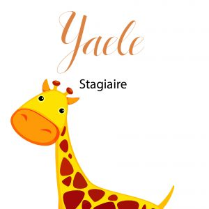 Yaële, Stagiaire